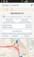 Screenshot of TrackGps