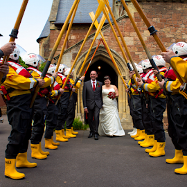 by Paul Scullion - Wedding Other ( wedding, event, rnli, bride, groom )