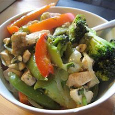 Garlic Chicken Stir-Fry