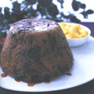 Spiced Fig Pudding with Cumberland Rum Butter