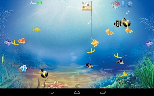 Game cat fishing apk for windows phone android games and for Fish cat game