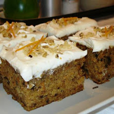 Buttermilk Glazed Carrot Cake