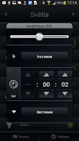 Screenshot of iNELS Home Control RF Mobile