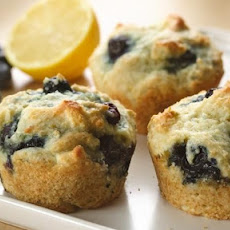 Greek Yogurt Blueberry Muffins