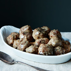Old-School Swedish Meatballs