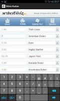 Screenshot of Doviz Kurlari