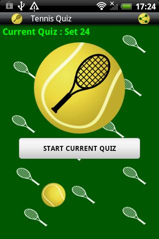 Tennis Quiz Game