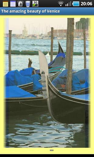 The amazing beauty of Venice