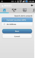 Screenshot of WSSC