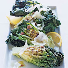 Grilled Lettuces with Manchego