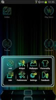 Screenshot of Next Launcher Neon Theme