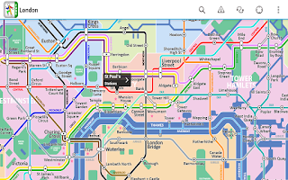 Screenshot of London Tube Free by Zuti