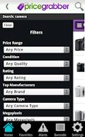 Screenshot of PriceGrabber
