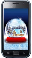 Screenshot of Application snow globe