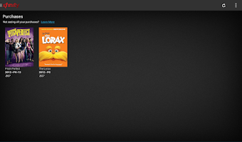 Screenshot of On Demand Purchases