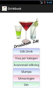 DrinkBook DM Swe - screenshot