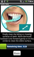 Screenshot of Tooth Fairy - a brushing timer