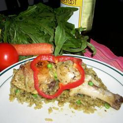Peruvian Chicken with Rice