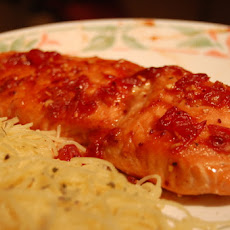 Cranberry Ginger Salmon