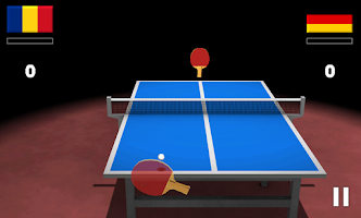 Screenshot of Virtual Table Tennis 3D Pro