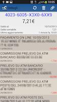 Screenshot of Carta Prepagata