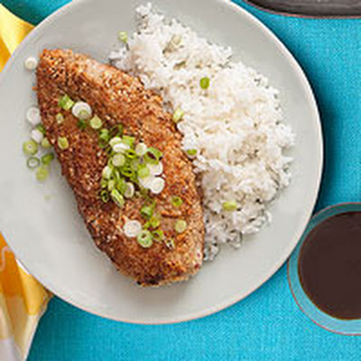 Cashew-Crusted Chicken