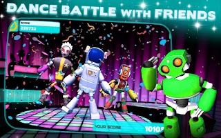 Screenshot of Robot Dance Party