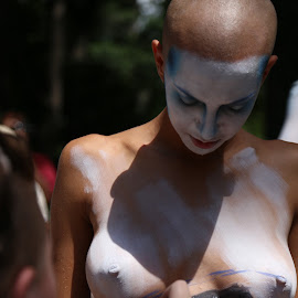Body Art by Victor Mirontschuk - People Street & Candids ( nude, art, places, nyc, artist )