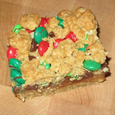M & M Dream Bars