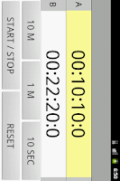 Screenshot of Kitchen Timer Double