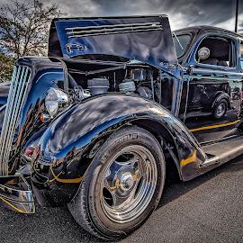 Black Betty by Ron Meyers - Transportation Automobiles