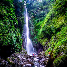 curug cantel by Kembali Tetap Semangat - Landscapes Mountains & Hills ( hill, waterfalls, indonesia, dugalan, waterfall, kalipedes, tegal )