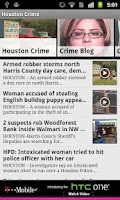 Screenshot of Houston News and Weather