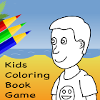 Kids Coloring Book Game icon