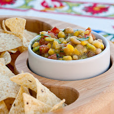 Avocado, Corn, and White Bean Salsa