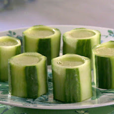 Cucumber Sake Shots