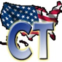 USA Connecticut clock flag icon