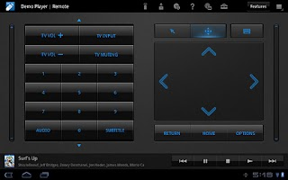 Screenshot of Media Remote for Tablet(OLD)