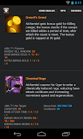 Screenshot of ProGuide for Dota 2