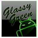 GOKeyboard Theme Glassy Green icon