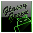 GOKeyboard Theme Glassy Green icon