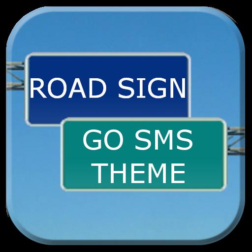 GO SMS臨路標主題 個人化 App LOGO-APP試玩