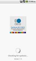 Screenshot of OECD Factbook 2011/2012