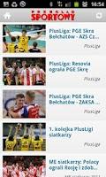 Screenshot of Przegląd Sportowy - siatkówka