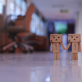 always together by Indra Wardana - Artistic Objects Toys (  )