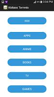 Screenshot of Kickass Torrents