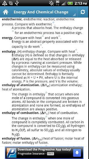 【免費教育App】General Chemistry Glossary BSS-APP點子