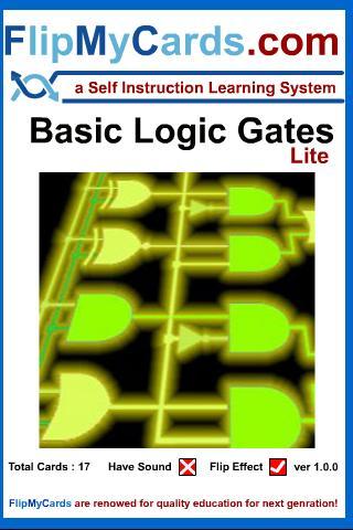 Logic Gates-Flip Learning