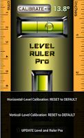 Screenshot of Level & Ruler Pro