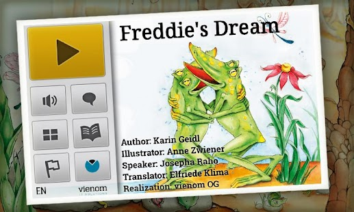 Freddie's Dream | KidsBookDemo - screenshot